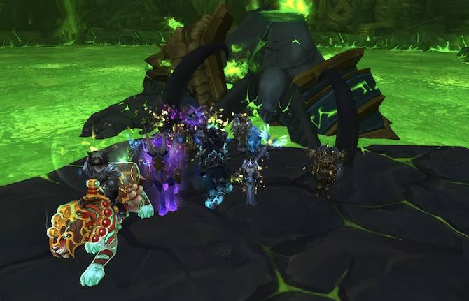 KdM beim Gefallenen Avatar (Grabmal des Sargeras)