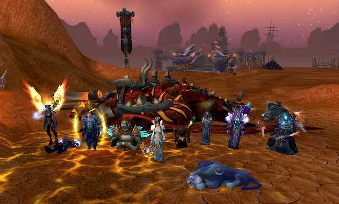 KdM bei Galakras (Schlacht um Orgrimmar)