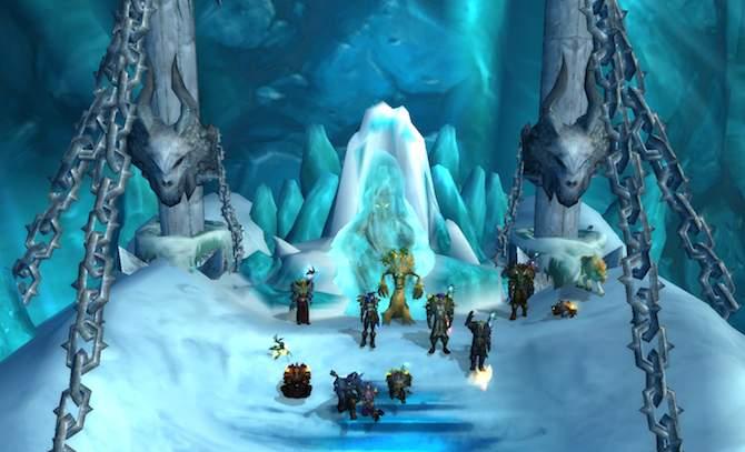 KdM beim Lichkönig in der Eiskronenzitadelle